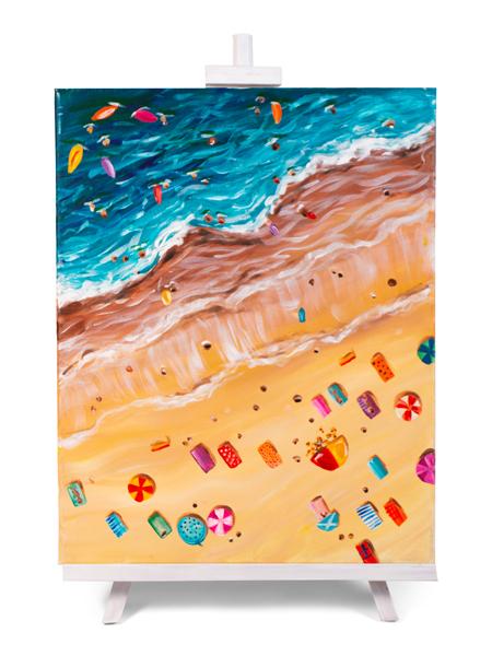 Bondi Birdseye - painting by Cork & Chroma