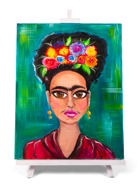 Faces of Frida - painting by Cork & Chroma