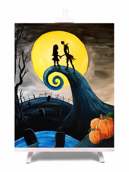 This is Halloween - painting by Cork & Chroma